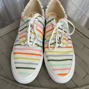 Keds X Rifle Paper Co. Striped Sneakers